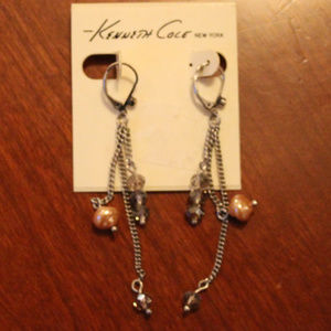 Kenneth Cole Long Earrings (2.5 inches)